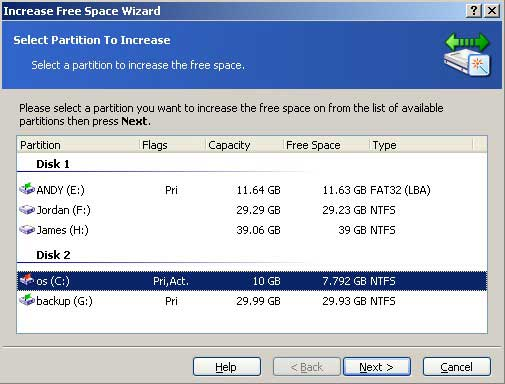 how to add more space to c drive