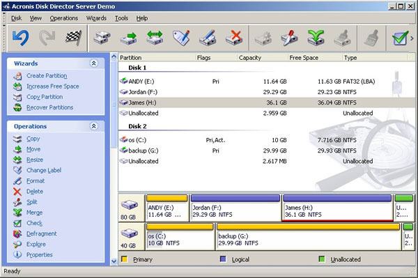 acronis partition manager full