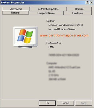 Small Business Server 2003