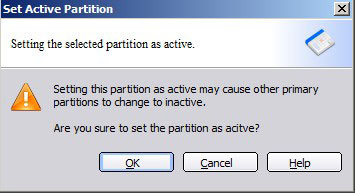 Active partition