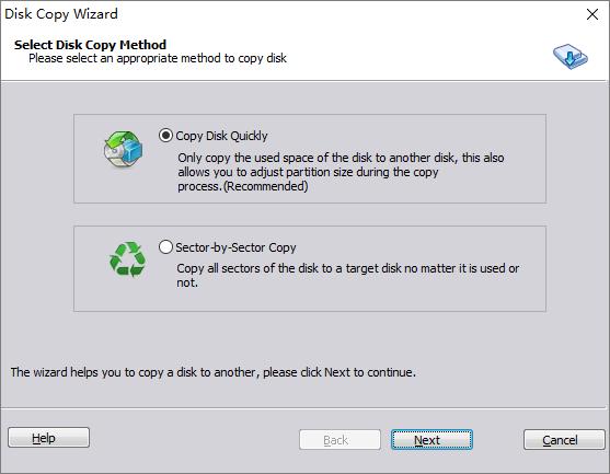Disk copy