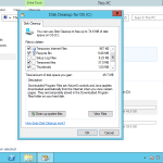 How to enable/install Disk Cleanup in Windows Server 2012?