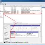 How to extend system partition in Windows Server 2012?