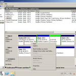 Move/Merge Unallocated space to C drive in Windows Server 2008