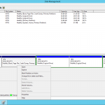 Cannot extend C drive in Windows Server 2012